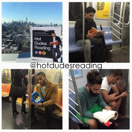 Hot Dudes Reading x4