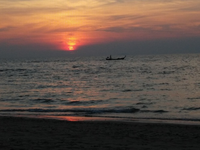 Sunset on Koh Lanta